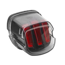 Motorcycle Led Brake Tail Light Fits For Harley Touring Electra Glide Road Glide Softail Sportster XL883 XL48 Dyna FLD Fat Boy
