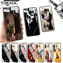 Leon Matilda Natalie Movie Glass Case for Samsung S7 Edge S8 S9 S10 Plus S10E Note 8 9 10 A10 A30 A40 A50 A60 A70 стоимость