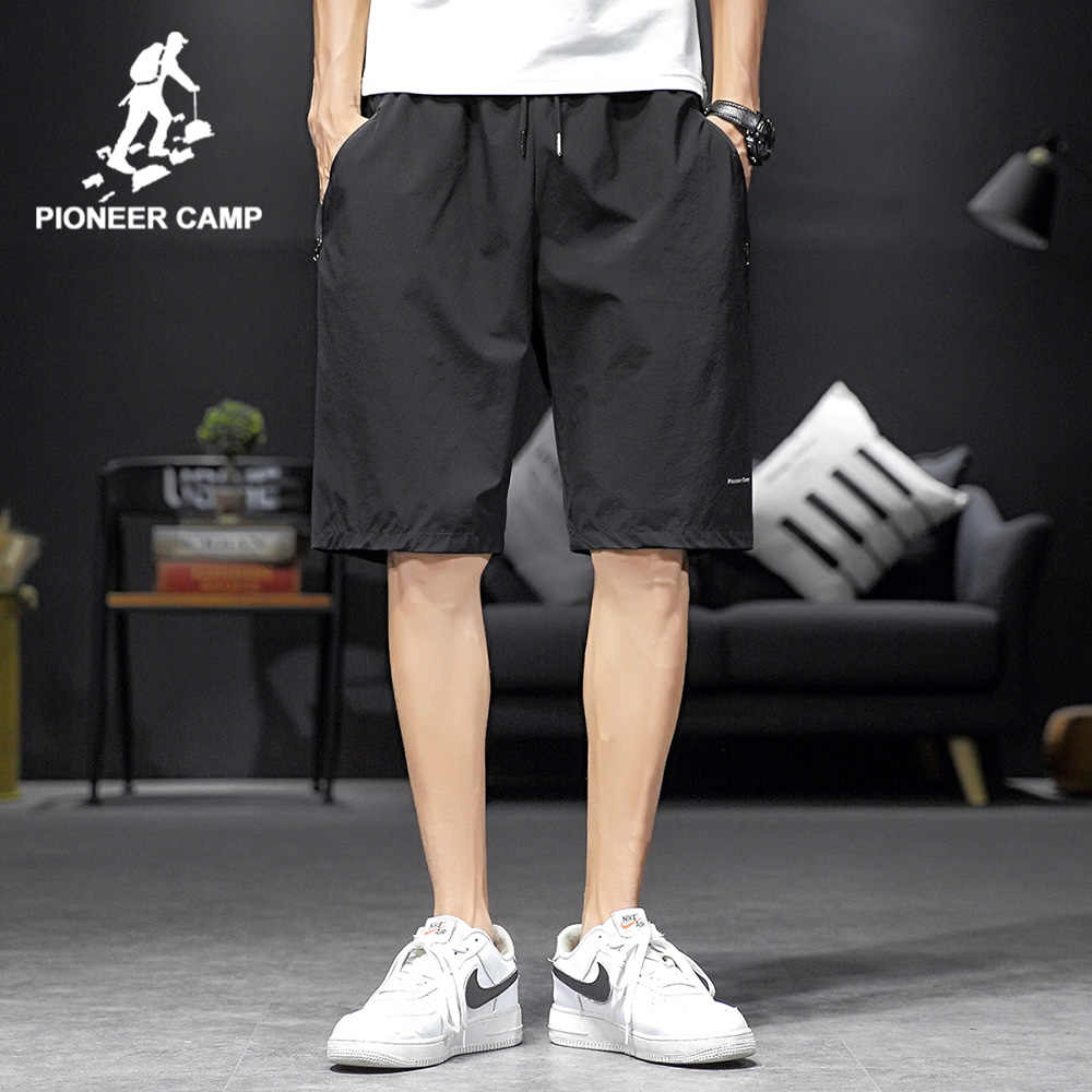 파이어 니어 캠프 2020 Sprotswear 여름 반바지 남자 블랙 컬러 100% 코튼 힙합 슬림 인과 남성 반바지 바지 ADK0202076