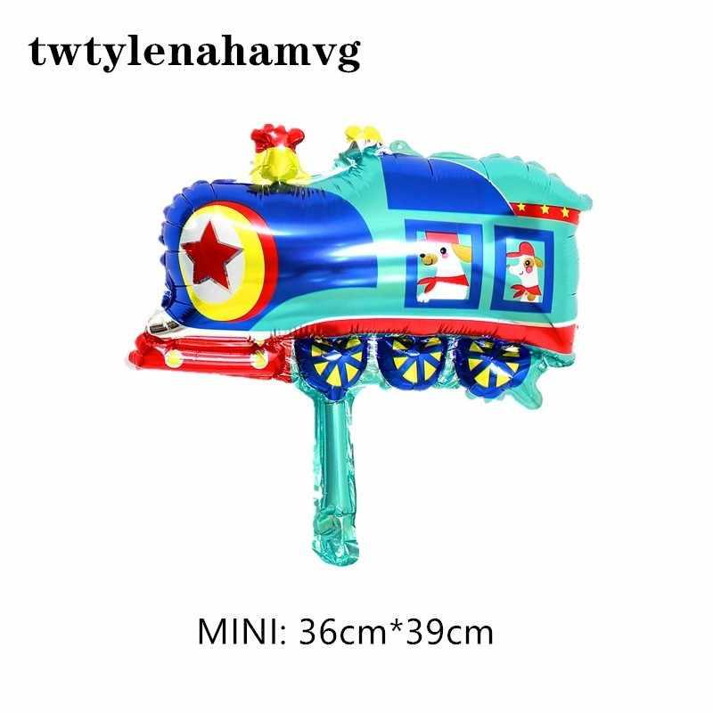 Il nuovo mini razzo nave cisterna piano rosso FAI DA TE stagnola palloncino felice compleanno di cerimonia nuziale del partito di giorno dei bambini della decorazione del giocattolo palloncini