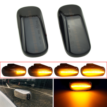 For Honda CRV Accord Civic City Fit Jazz Stream HRV S2000 Odyssey Integra Acura RSX NSX LED Side Marker Lights Turn Signal Lamps image