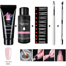 Nail-Extension-Tools Builder Poly Quick-Building Manicure-Kit Uv-Gel Professional Luminous-Nail