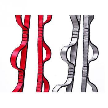 Wiszące liny lina wspinaczkowa chryzantemy joga pas elastyczny pasek Extender liny dla hamak do air jogi huśtawka latające Anti-Gravity tanie i dobre opinie CN (pochodzenie) 110cm Red silver gray 110cm (or so error) 1x Yoga Stretch Belt