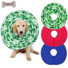 Pet Elizabethan Collar Dog Cat Adjustable Wound Healing E-Collar Soft Cone Smart Cone Prevent Bite Pretty prevent hinder pet dog cat cervical collar injured surgery wound training infection lick bite grab e collars recovery sleeve
