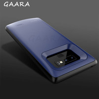 5000mAh Battery Case for Samsung Galaxy Note 9 High Capacity Black Blue Power Bank Cases Soft Cover Side External Charging coque