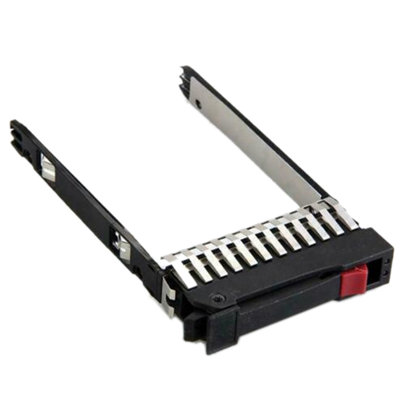 2.5 inch SAS/ SATA Tray Caddy HDD Hard Drive with Screws for PC HP DL380 G7 P2000 G3 image