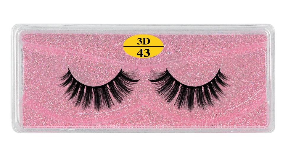 Hf40c84cad53e4dcca2db1820b815b8e0i - MB Eyelashes Wholesale 40/50/100/200pcs 6D Mink Lashes Natural False Eyelashes Long Set faux cils Bulk Makeup wholesale lashes