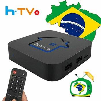 ai tak pro 1 HTV BOX 5 BRASIL HTV BOX 6+ HTV6 BOX BTV BOX Brazilian Portuguese TV Internet Streaming box Live Filmes On Demand