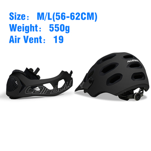 Image 4 - Cairbull Mountain Bike Helmet Adult Full Covered Downhill  Full Face Helmet OFF ROAD MTB Road Bicycle Helmet Cycling Helmet BMX