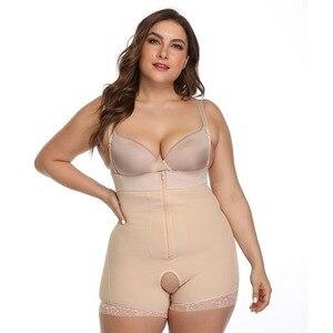 Корсет для похудения, боди большого размера 6XL для похудения