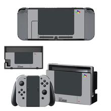 Switch Sticker Protector Wrap Skin Decal for Nintendo Switch Full Set Faceplate Protective  Stickers Console Joy-Con Dock