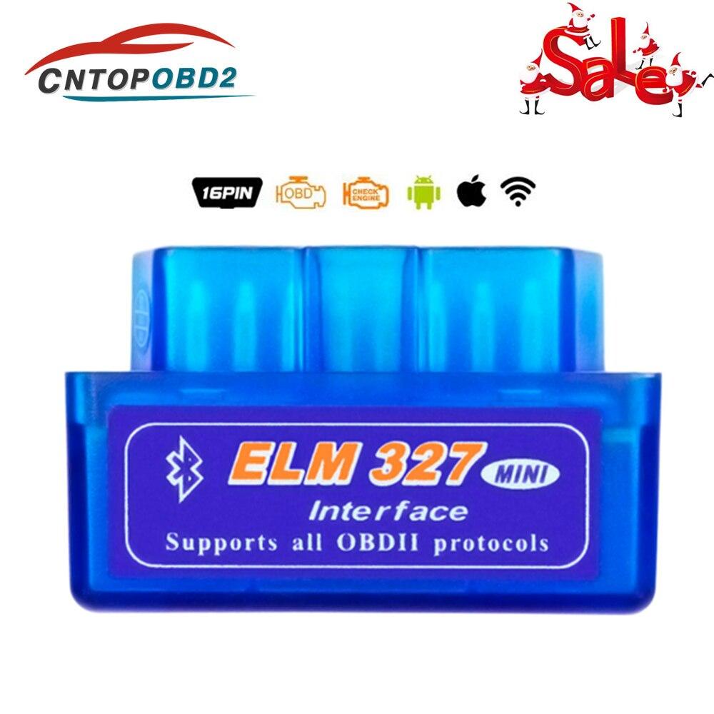 OBD2 V1.5 Wifi ELM327 OBD 2 bluetooth ELM 327 V2.1 automobile Scanner voiture outil de Diagnostic OBDII 1.5 outil de Diagnostic Code lu