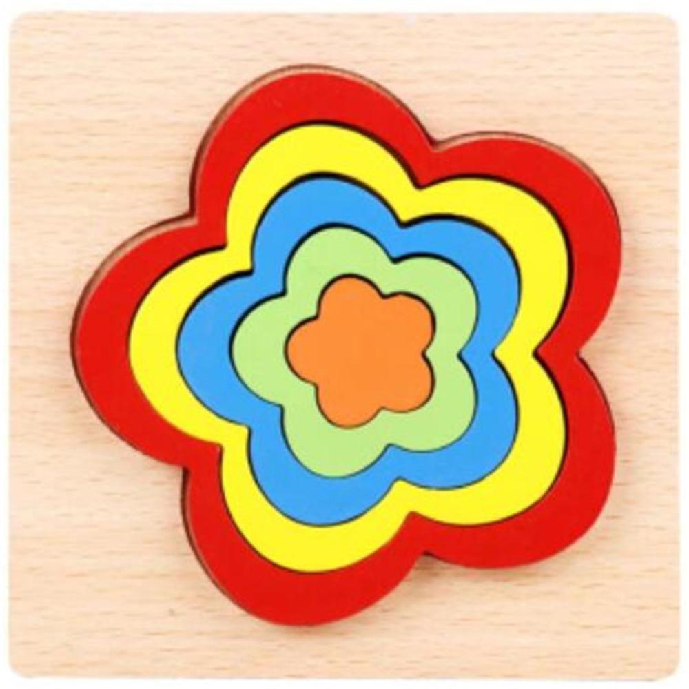 Montessori Cartoon Animal Educational Wooden Beaded Geometry Digital Clock Puzzles Gadgets Matching Clock Toy For Children 17