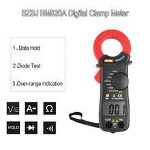 SZBJ BM820A Digital DC/AC Clamp Meter Multimeter Volt Amp Ohm Diode Tester Handheld Mini Ammeter Tester