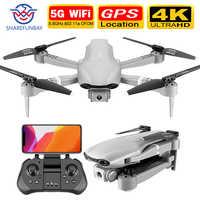 SHAREFUNBAY F3 drone gps 4K 5G WiFi video en vivo FPV quadrotor vuelo de 25 minutos de distancia rc 500m drone HD-amplio ángulo de cámara dual