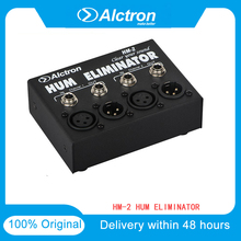 """Alctron HM 2 Hum Eliminator Transformer Isolator 1/4"""" And XLR Inputs Lower Audio Noise Passively Eliminating Ground Loops"""
