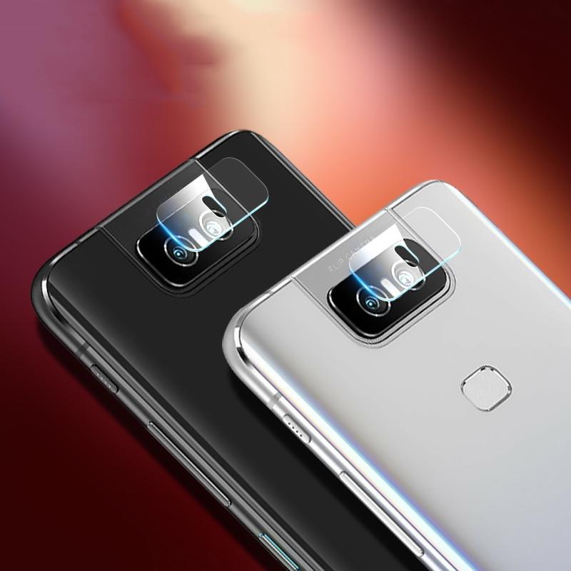 MicroData 2Pcs Back Camera Lens Film For ASUS ROG 2 Zenfone6 Zenfone Max Pro M2 Zenfone Max Pro Tempered Glass Screen Protector