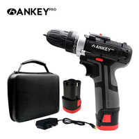 12V Power Tools Screwdriver Cordless Electric Drill Lithium Battery Mini Screwdriver Power Tool Cordless Drill Set Mini Bit