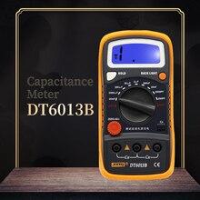 SZBJ DT6013B портативный цифровой измеритель емкости с ЖК-подсветкой