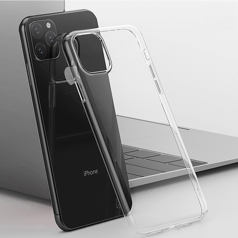 HOCO Ultra Thin Transparent Case for iPhone 11 Pro Max on iPhone X XS XR Cover Soft Silicone Protective Case for iPhone XS Max