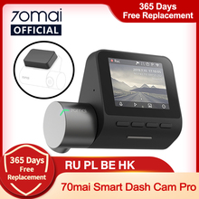 70mai Dash Cam Pro 1944P Snelheid En Gps Cam Voice Control 70 Mai Auto Dvr Pro Parking Monitor Night vision Gratis Wifi 70mai Plus