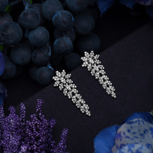 Image 4 - תכשיטי סט HADIYANA טרנדי נשים חתונה מסיבת Fahion שרשרת עגילי טבעת וצמיד סט זירקון CN1524 Conjunto דה joyas
