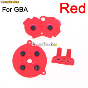 Image 5 - 8colors 1set D pad For GBA Colorful Rubber Conductive Buttons A B D pad for GameBoy Advance Silicone Start Select Keypad Dpad