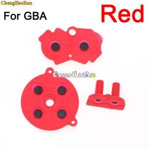 Image 5 - Juego de 8 colores de almohadilla D para GBA, botones conductores de goma coloridos, A B almohadilla D para GameBoy Advance, teclado de selección de silicona, Dpad