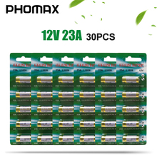 PHOMAX 30pcs disposable battery 5pcs/card 23a 12v