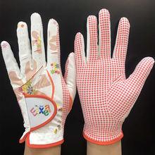 Перчатки женские для гольфа спортивные Нескользящие дышащие