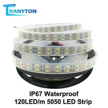 120 LEDs/m LED Strip 5050 DC12V Silicone Tube Waterproof IP6