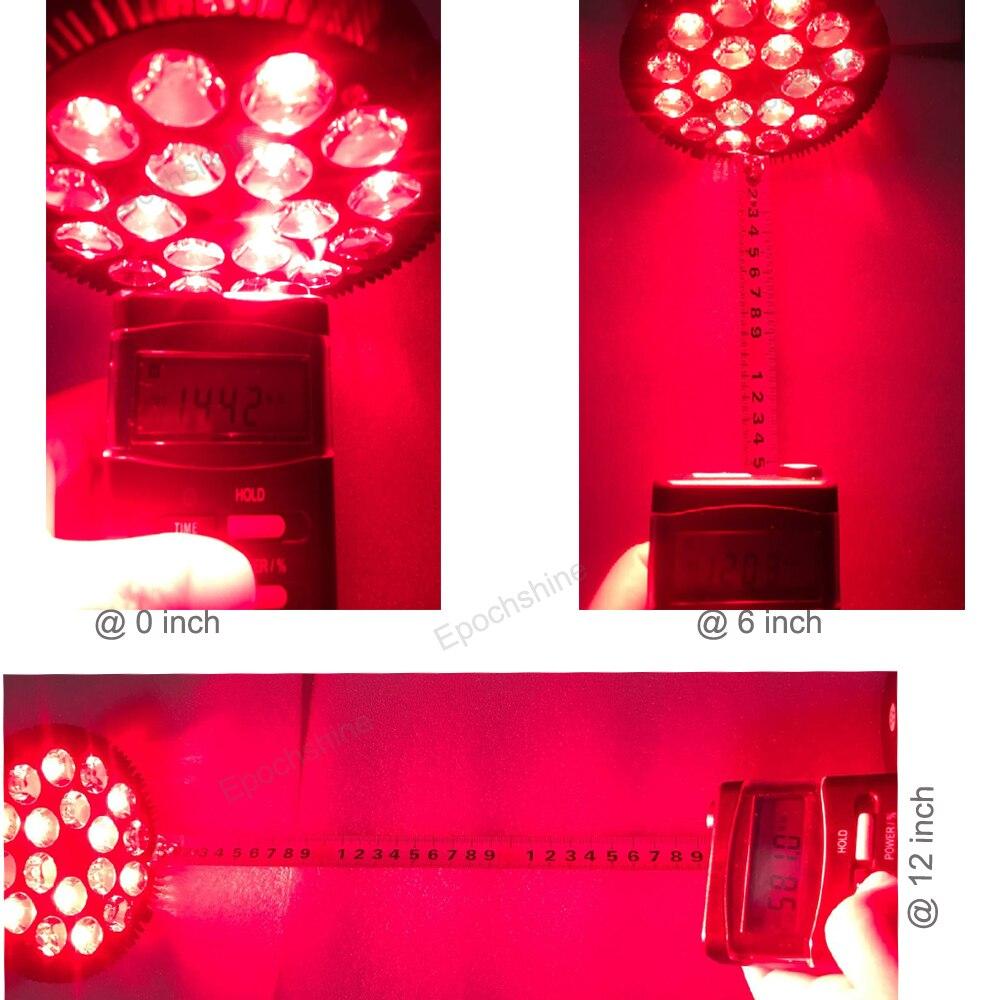 Vermelho profissional led terapia lâmpada alívio da