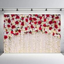 Rose Backdrop Banner Dessert-Table 3d-Flower Photo-Studio Wedding-Party-Decor Floral