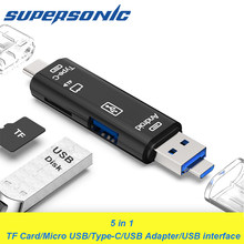 Kartenleser High Speed OTG Typ C Adapter Mini Kartenleser für Micro SD/TF/Microsd Computer Laptop