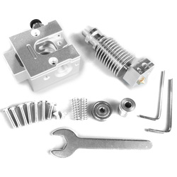Reprap metalowe buldog + V6 J głowica ekstrudera do 1.75Mm żarnika 3D część drukarki w Części i akcesoria do drukarek 3D od Komputer i biuro na