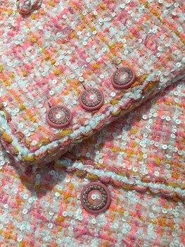 2019 elegant vestidos plus size tweed dress women custom 5xl 6xl vestidos de fiesta de noche amazing ropa mujer winter dress 5