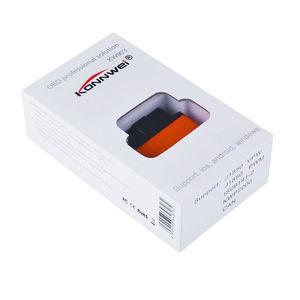Image 4 - KONNWEI KW903 ELM327 OBD2 Bluetooth Auto Diagnose werkzeug KW 903 ulme 327 wifi für Android/IOS 2017 Neue code reader scanner dfdf