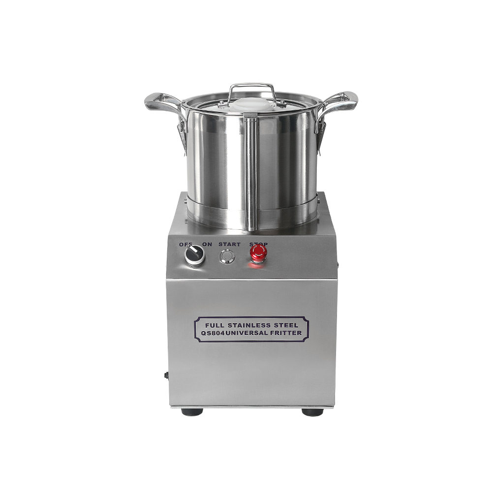 4L Heavy Duty Food Cutter High Speed Electric Slicer Machine for Vegetable Grain Meat Chopper Kitchen Grinder Blender Processor