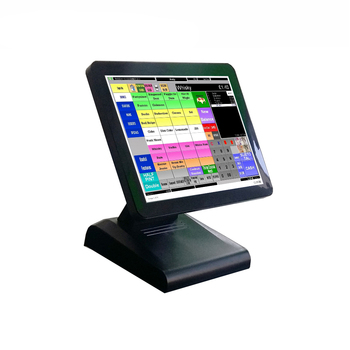 pos system machine 1619 J1900 DDRIII pos all in one for supermarket