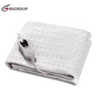 Один Размеры 150*80 см 220 V-240 V 60W нетканое тканевое одеяло электрическое Отопление Под Одеяло с третьей Шестерни контроллер штепсельная вилка е...