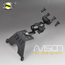 Phone-Holder-Stand Xmax250-Xmax300-Stand Xmax 300 Smartphone for GPS Navigator-Plate-Bracket