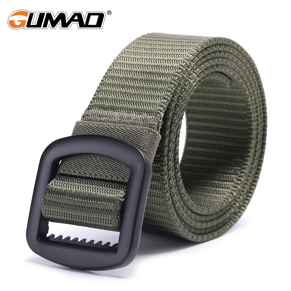 Outdoor Tactical Webbing Belt Military Men Waistband Belt For Hunter Bag Q
