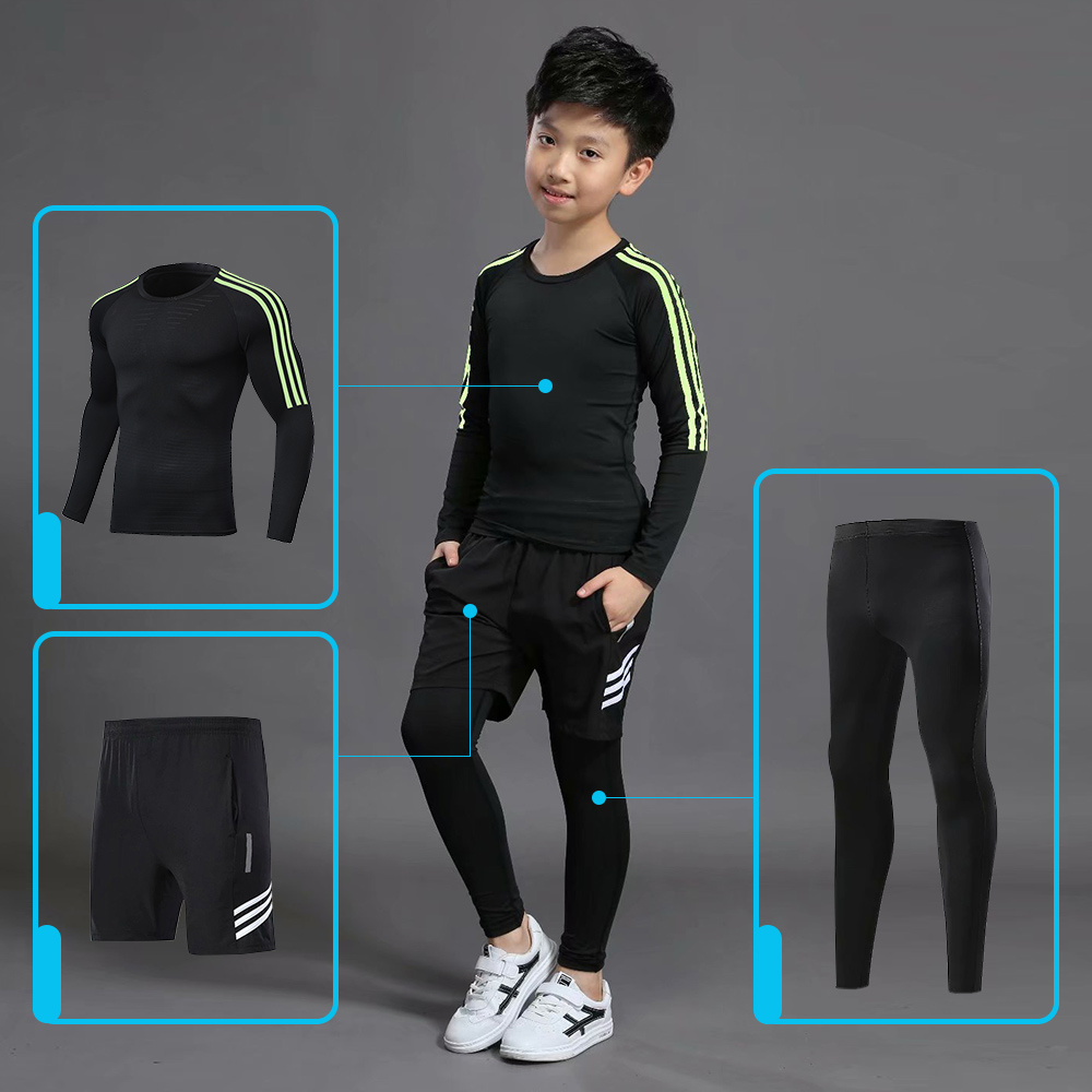 Kids Thermal Sports Sets Boys Thermal Underwear Sets Kids Boys Girls Underwear Thermo Suits Hot Quick Drying Long Johns