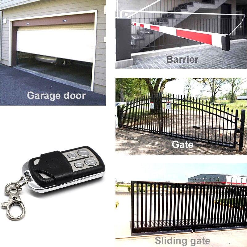 Image 5 - MOTORLINE remote gate control key duplicator MOTORLINE garage door opener 433.92 Garage Door command key chain for barrier-in Door Remote Control from Security & Protection