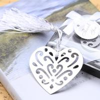 Quevinal Bulk My Heart Bookmark Party Favours Souvenirs First Communion Birthday Baby Shower Wedding Favors and Gifts For Guest