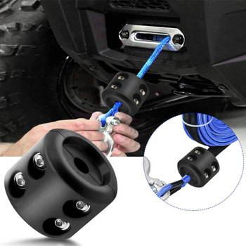 Cable Hook Stopper Winch Mount Stop Rope Line Cable Saver for Universal Auto Offroad ATV UTV Accessories Parts