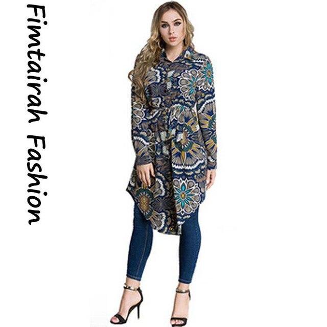 Plus VAE Islam Arabisch Lange Blouse Tops Vrouwen 6XL 7XL 2019 Maleis abaya Moslim Turkse vrouwen WearLoose Shirt Grote size