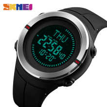 цена SKMEI Fashion Sports Watches Men Compass Waterproof Outdoor Watch Countdown Chrono Alarm Digital Wristwatches Relogio Masculino в интернет-магазинах