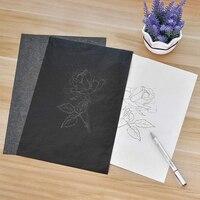 A4 pintura legível rastreamento de papel carbono copiar grafite acessórios reutilizáveis de alta qualidade usado em uma maneira sobreposição