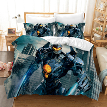 Pacific Rim 3d Bedding Set Duvet Covers Set Pillowcases Gipsy Danger PacificRim Comforter Bedding Sets Bedclothes Bed Linen цена